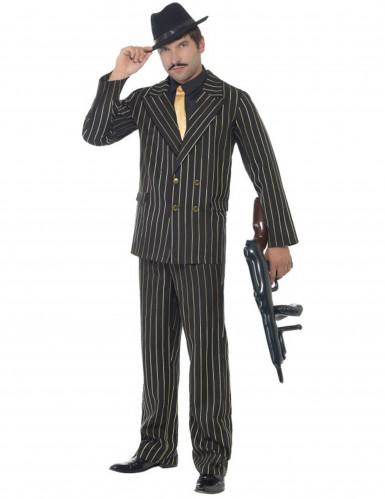 Déguisement gangster charleston rayé homme