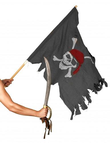 Drapeau pirate authentique-1