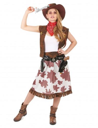 Déguisement cowgirl classique femme