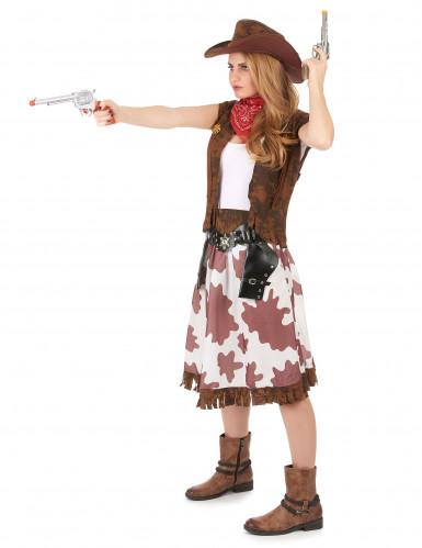 Déguisement cowgirl classique femme-1
