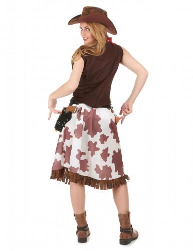 Déguisement cowgirl classique femme-2
