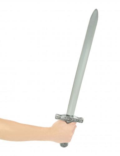 Epée chevalier en plastique 63 cm-1