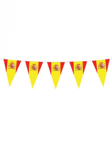 Guirlande fanions drapeaux espagnols 5 m