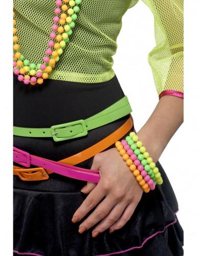 Bracelets fluo adulte