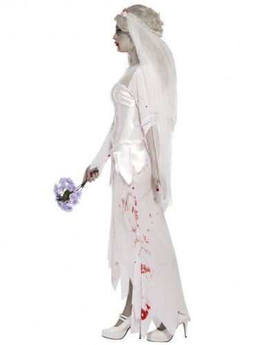 Déguisement zombie mariée femme Halloween-2