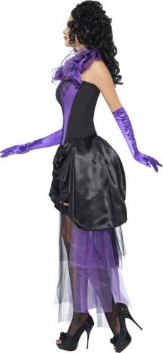 Déguisement comtesse violet sexy femme-1