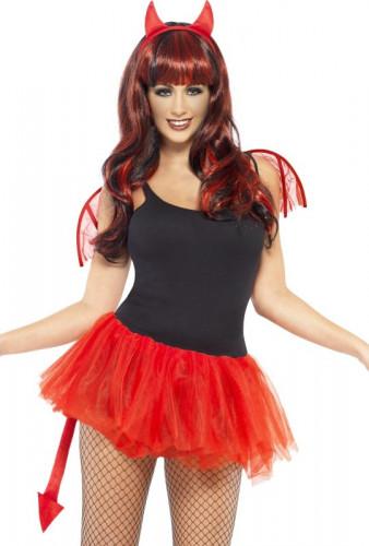 Kit d�mon femme Halloween