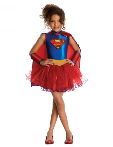 Déguisement Supergirl™ paillettes fille