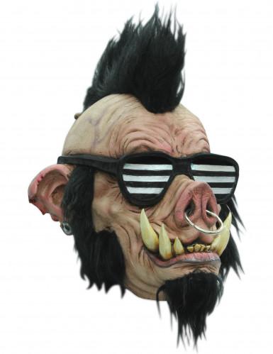 Masque sanglier punk adulte