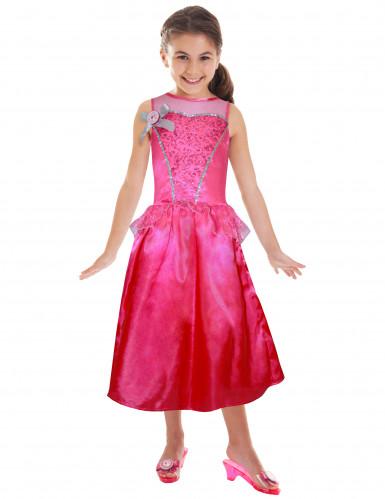 Déguisement Barbie™ princesse à paillettes fille