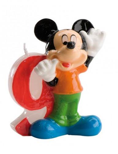 Bougie numéro 9 Mickey™