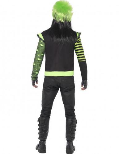 Veste gothique verte homme-2