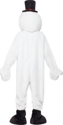 Déguisement bonhomme de neige mascotte adulte Noël-1