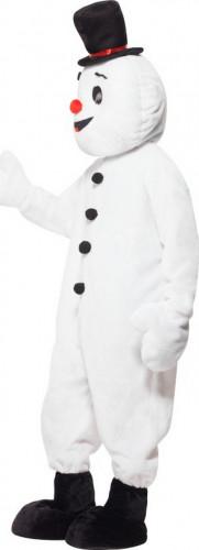 Déguisement bonhomme de neige mascotte adulte Noël-2