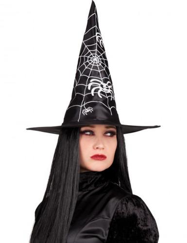 Chapeau sorcière noire adulte Halloween