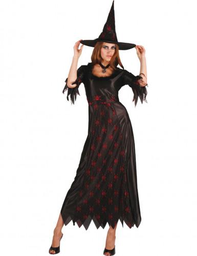 Disfraz de bruja calavera mujer Halloween