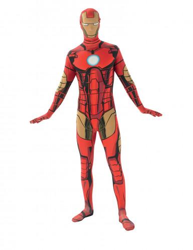 Hautenges Iron Man™-Kostüm für Erwachsene M - 1,50m bis 1,60m 4P3XT362