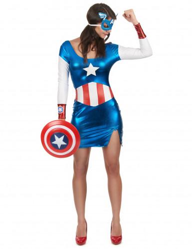 Déguisement Captain Girl™ sexy femme