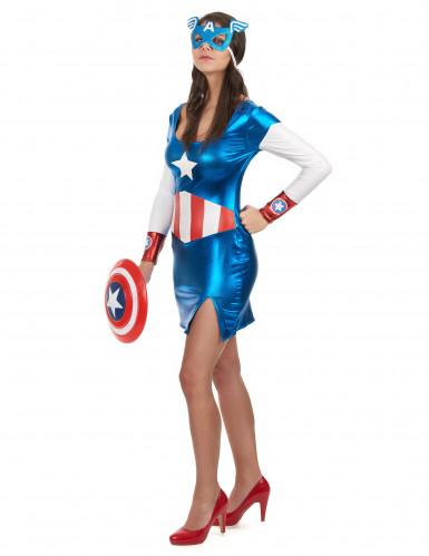 Déguisement Captain Girl™ sexy femme-1