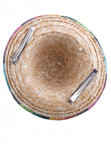 Mini sombrero colorée femme-2