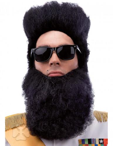 Barbe noire dictateur adulte