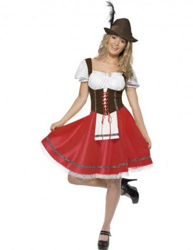 Déguisement bavaroise classique femme