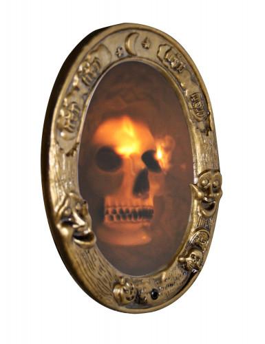 Faux miroir sonore Halloween 31,5 x 25 cm-1