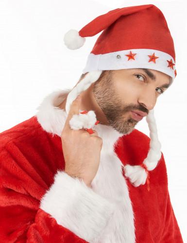 Bonnet lumineux Noël adulte-2