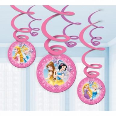 6 Suspensions Princesses Disney™