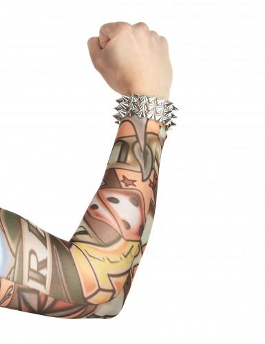 Manches faux tatouages 42 cm-1