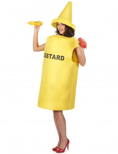 Déguisement pot de moutarde adulte-1