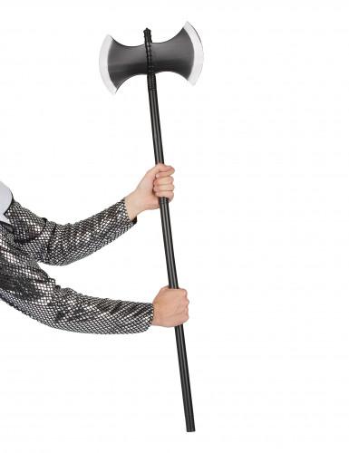 Hache noire en plastique 110 cm-1