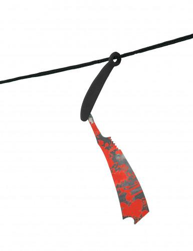 Guirlande outils ensanglantés 118 cm-2