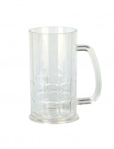Chope à bière en plastique 7,5 x 14 cm