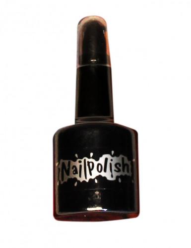Vernis et rouge à lèvres noir adulte Halloween