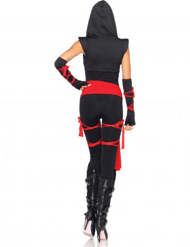 Déguisement ninja noir sexy femme-1