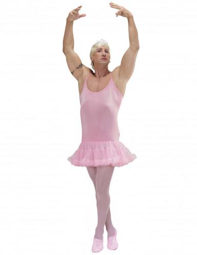 Déguisement danseuse étoile rose homme
