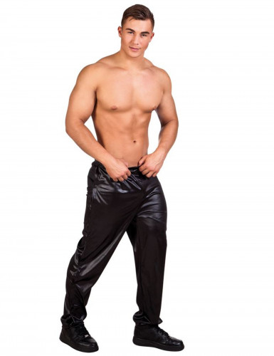 Pantalon stripteaseur noir adulte