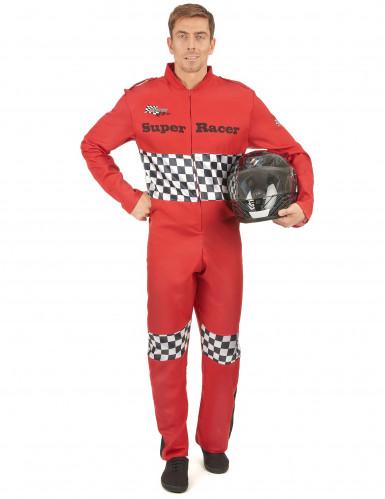 Déguisement pilote de course homme