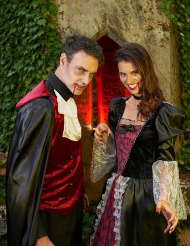 Déguisement deluxe vampire baroque femme-3