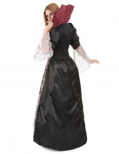 Déguisement deluxe vampire baroque femme-2