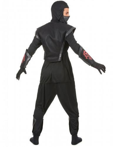 Déguisement ninja effet feutrine homme-2