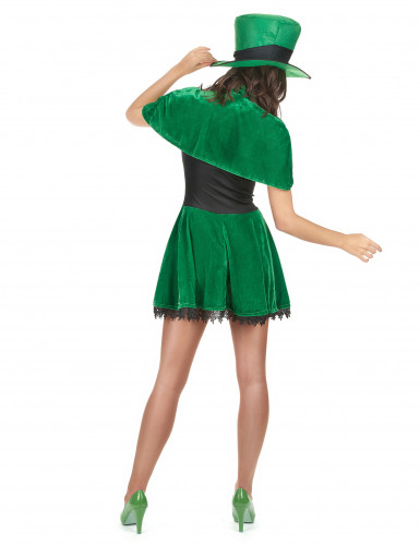 Déguisement leprechaun St Patrick femme-2
