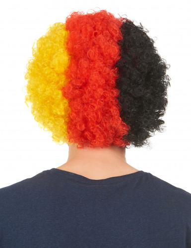 Perruque supporter Allemagne adulte-1