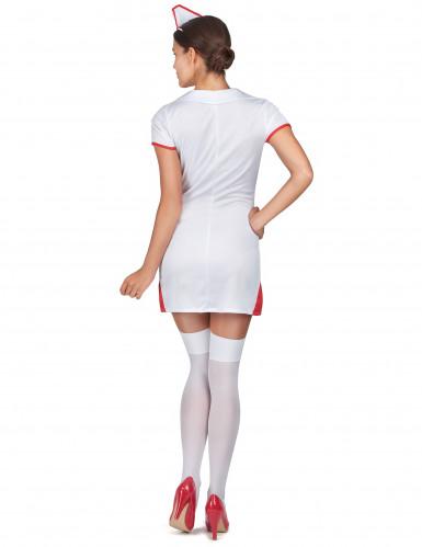 Déguisement infirmière robe courte femme-2