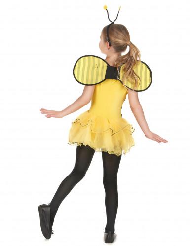 Déguisement abeille fille jaune à sequins-2