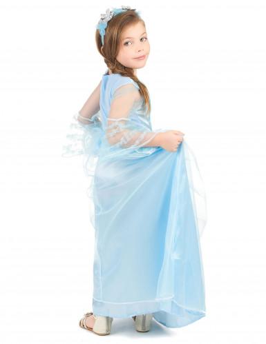 Déguisement princesse bleue claire fille-2