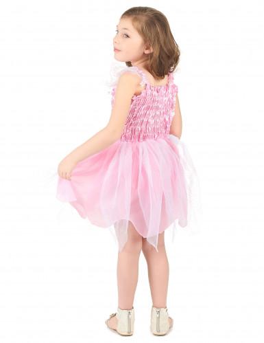 Déguisement fée princesse rose fille-2