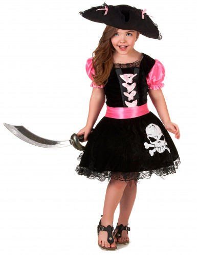 Déguisement pirate girly fille