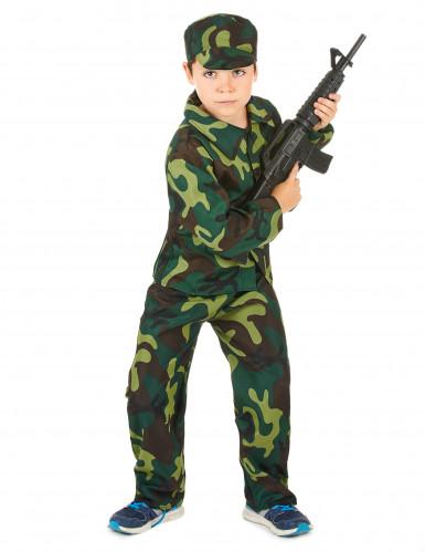 Déguisement militaire camouflage garçon